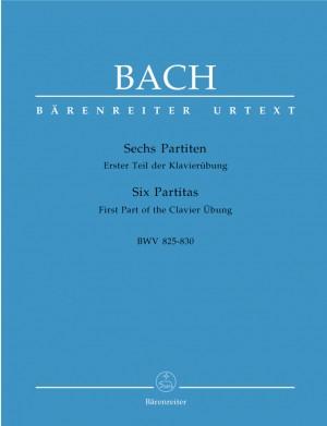 Bach, JS: Partitas (6), (Klavieruebung Part 1) (BWV 825-830) (Urtext)
