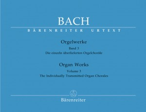 Bach, JS: Organ Works Vol. 3: Separate Organ Chorales (Urtext)
