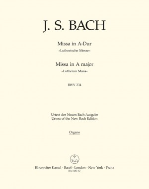 Bach, JS: Lutheran Mass in A (BWV 234) (Urtext) (L)