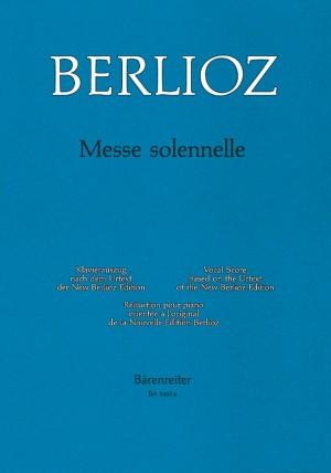 Berlioz, H: Messe Solennelle (Urtext) (first edition)