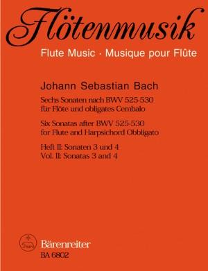 Bach, JS: Sonatas (6) (after BWV 525 - 530), Vol. 2: (No.3 in D minor; No.4 in A minor)
