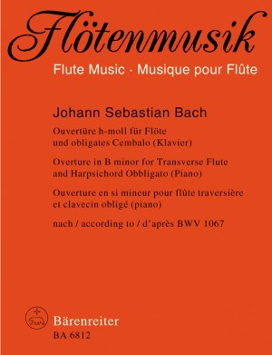 Bach, JS: Suite (Overture) No.2 in B minor (BWV 1067) (Urtext)
