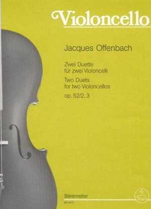 Offenbach, J: Duets (2), op.52/2 & 3