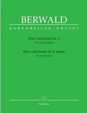 Berwald, F: Duo Concertant in A (Urtext)