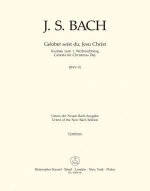 Bach, JS: Cantata No. 91: Gelobet seist du, Jesu Christ (BWV 91) (Urtext)
