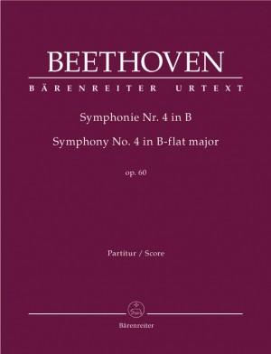 Beethoven, L van: Symphony No.4 in B-flat, Op.60 (Urtext) (ed. Del Mar)