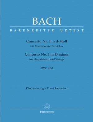 Bach, JS: Concerto for Keyboard No.1 in D minor (BWV 1052) (Urtext)