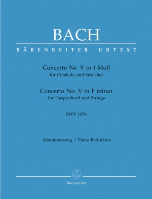 Bach, JS: Concerto for Keyboard No.5 in F minor (BWV 1056) (Urtext)