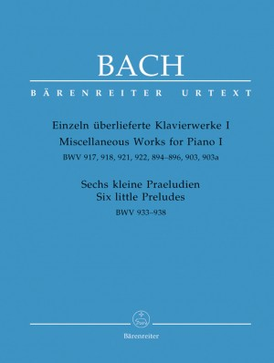 Bach, JS: Miscellaneous Works for Piano I (Urtext)