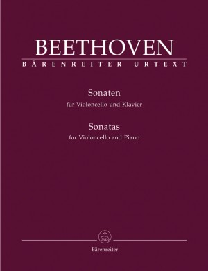 Beethoven, L van: Complete Sonatas for Violoncello and Piano. (Op.5 Nos.1 and 2, Op.69, Op.102 Nos 1 and 2) (Urtext)