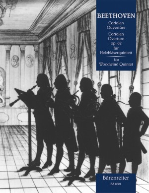 Beethoven, L van: Coriolan Overture Op.62 arranged for Woodwind Quintet