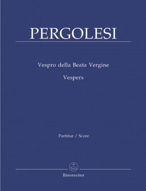 Pergolesi, G: Vespers (Vespro della Beata Vergine) (L) (Reconstructed by Malcolm Bruno)