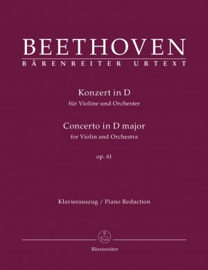 Beethoven, L van: Concerto for Violin in D, Op.61 (Urtext)