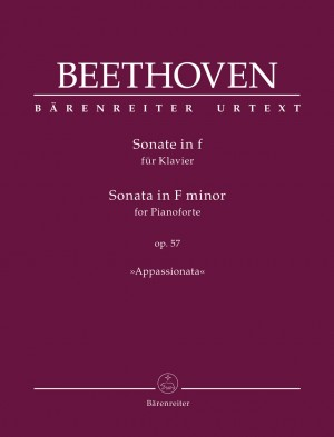 "Beethoven, Ludwig van: Sonata for Pianoforte F minor op. 57 ""Appassionata"""
