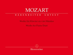 Mozart, Wolfgang Amadeus: Works for Piano Duet