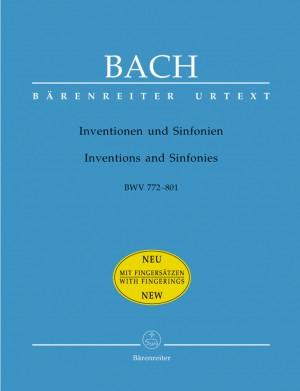 Bach, JS: Inventions & Sinfonias (BWV772-801) (Urtext)