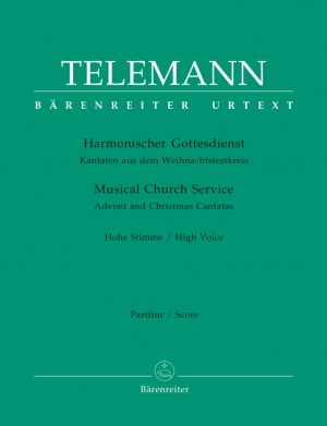 Telemann: Harmonischer Gottesdienst - Advent and Christmas Cantatas (High Voice)