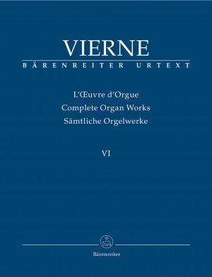 Vierne, L: Organ Works Vol. 6: Symphonie No.6, Op.59 (Urtext)