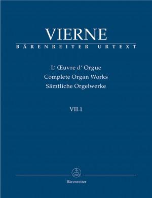 Vierne, L: Organ Works Vol. 7/1: Pieces de Fantaisie en quatre suites (Livre I, 1-6), Op.51 (Urtext)