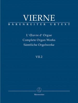 Vierne, L: Organ Works Vol. 7/2: Pieces de Fantaisie en quatre suites (Livre II, 7-12), Op.53 (Urtext)