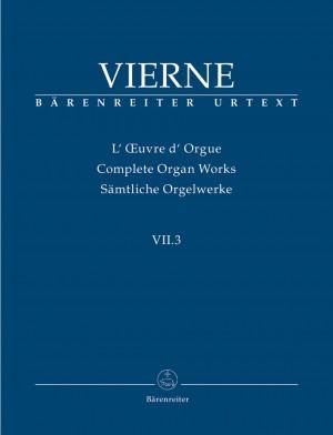 Vierne, L: Organ Works Vol. 7/3: Pieces de Fantaisie en quatre suites (Livre III, 13-18), Op.54 (Urtext)