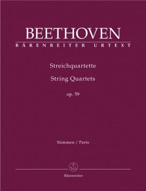 Beethoven, L van: String Quartets, Op.59 Nos. 1 - 3 (Urtext)