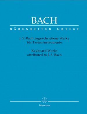 Bach, JS: Keyboard Works attributed to Johann Sebastian Bach (Urtext)