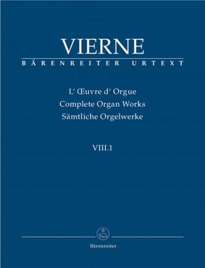 Vierne, L: Organ Works Vol. 8/1: Pieces en style libre pour orgue ou harmonium (Livre I, 1-12), Op.31 (Urtext)
