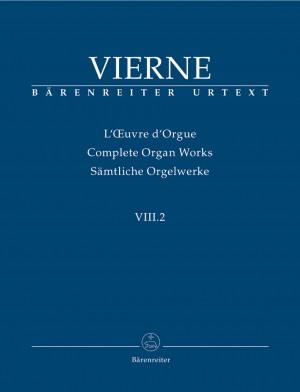 Vierne, L: Organ Works Vol. 8/2: Pieces en style libre pour orgue ou harmonium (Livre II, 13-24), Op.31 (Urtext)