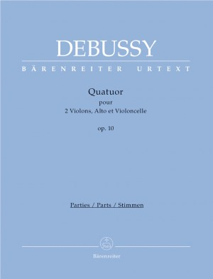 Debussy, Claude: String Quartet, Op.10 (Urtext)