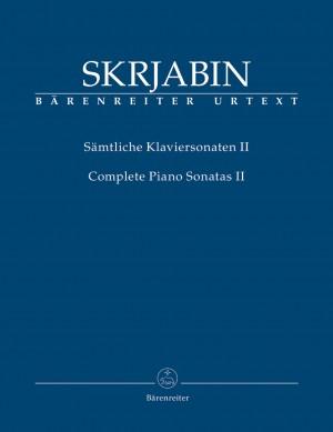 Skrjabin, A: Piano Sonatas (complete), Vol.II (Nos. 4 and 5) (Urtext)