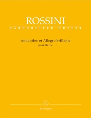 Rossini, G: Andantino et Allegro brillante pour Harpe (Urtext)