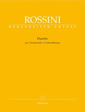Rossini, G: Duetto per Violoncello e Contrabasso (Urtext)