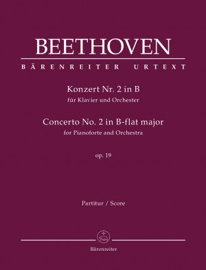 Beethoven, Ludwig van: Concerto for Pianoforte and Orchestra no. 2 B-flat major op. 19