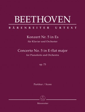 Beethoven, Ludwig van: Concerto for Pianoforte and Orchestra no. 5 E-flat major op. 73