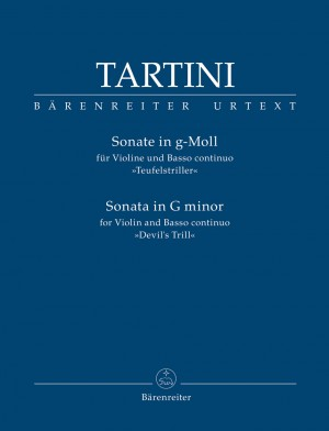 "Tartini, Giuseppe: Sonata for Violin and Basso continuo in G minor ""Devil's Trill"""
