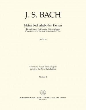 Bach, Johann Sebastian: Meine Seel erhebt den Herren BWV 10