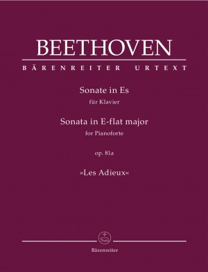 "Beethoven, Ludwig van: Sonata for Pianoforte E-flat major op. 81a ""Les Adieux"" Product Image"