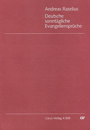 Raselius: Deutsche sonntägliche Evangeliensprüche (1594)