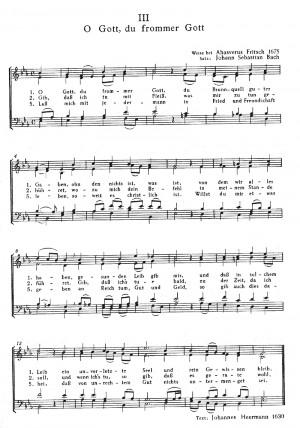 Bach, JS: Vier Chorsätze von Bach, Kurig und zwei Kanons von Mozart