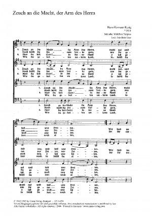 Kurig: Vier Kirchenliedsätze