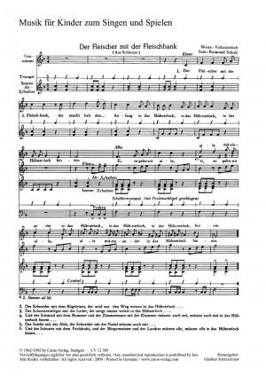 Kretzschmar: Vier Chorsätze für Kinderchor von Kretzschmar, Ochs und Schulz