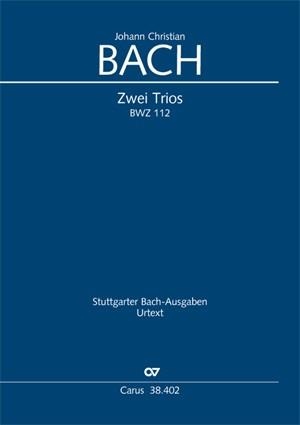 Bach, JC: Trios in C und A