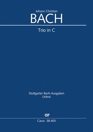 Bach, JC: Trio in C (CW YB 47; C-Dur)
