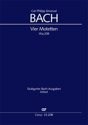 Bach, CPE: Vier Motetten
