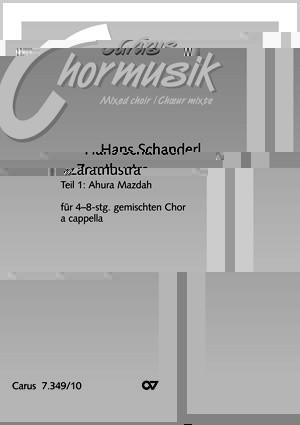 Schanderl: Zarathustra - Ahura Mazdah