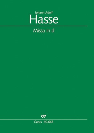 Hasse: Messe in d (d-Moll)