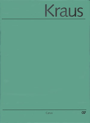 Kraus: Kammermusik I. Musikalische Werke, Bd. VI/1