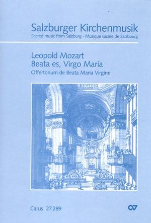 Mozart: Beata es, Virgo Maria (C-Dur)