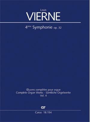 Vierne: Symphonie Nr. 4 in g (Op.32; g-Moll)